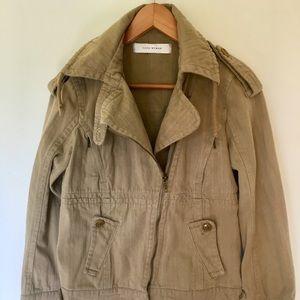 Zara Cotton Jacket Size M/Moto Style
